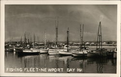 Fishing Fleet in Newport Bay