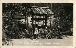 Curry's Wishing Well, Camp Baldy Postcard