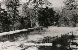 Swimming Pool, Camp Osceola, Barton Flats