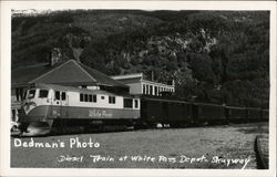 Diesel Train at White Pass Depot