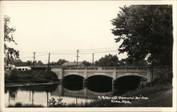 A. W. Wright Memorial Bridge Postcard