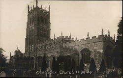 Campden Church 1490 Postcard