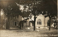 Congregational Church & Parsonage Postcard