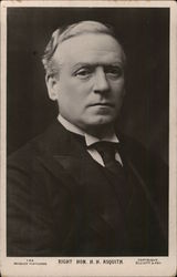 Right. Hon. H.H. Asquith, Former Prime Minister United Kingdom