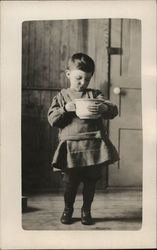 Child With a Bowl