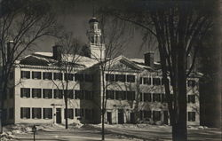 Stanley and Traditional Dartmouth Hall at Dartmouth College