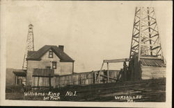 Williams-King No.1 Oil Well