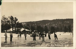 Ice Skating on Big Bear Lake