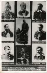 Custer and Nine of 16 Officers of 7th Cavalry Killed in Action at the Battle of Little Big Horn