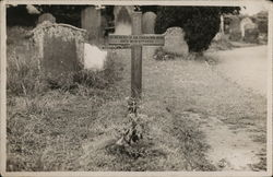 Unknown Man's Grave November 6th, 1930