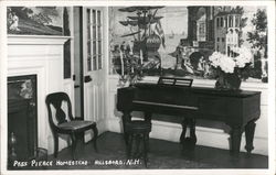 Pres. Pierce Homestead, Piano or Harpsichord Postcard