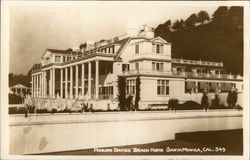 Marion Davies' Beach Home Postcard