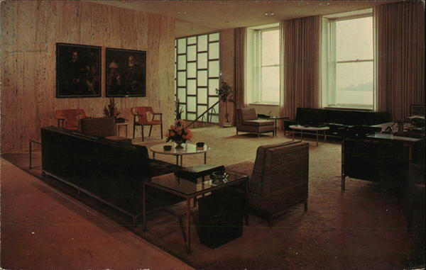 Reception Room Parke-Davis Detroit Michigan