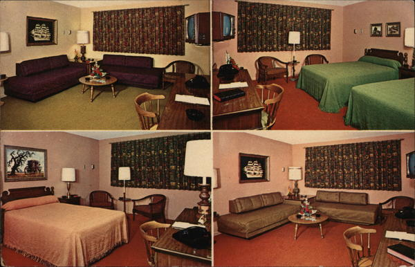 Coach and Lantern Motor Inn Detroit Michigan