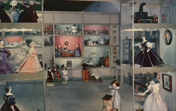 The Doll Shop at the Early American Museum Silver Springs Florida