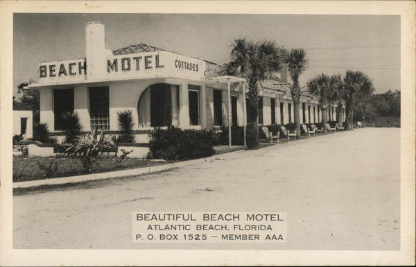 Beach Motel and Cottages Atlantic Beach Florida