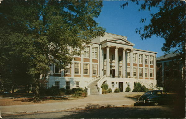 The Administration Building at the University of Alabama Tuscaloosa