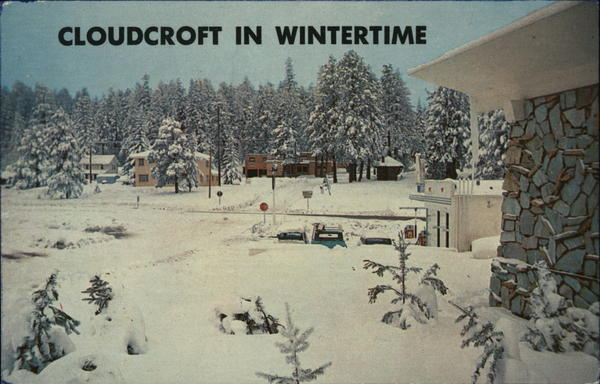 Cloudcroft in Wintertime New Mexico