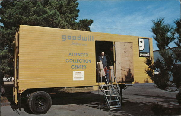 Goodwill Attended Collection Centers Advertising