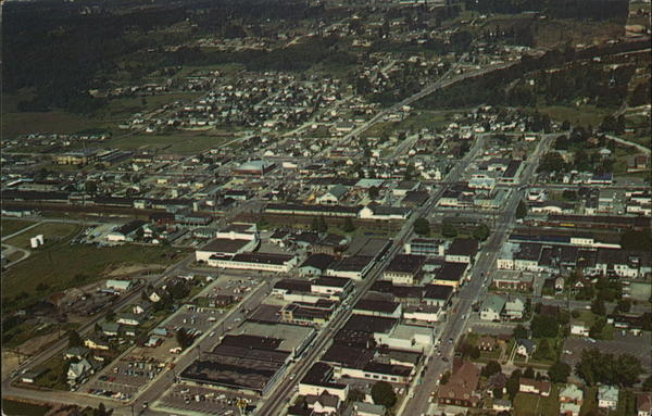 Aerial View Kent Washington