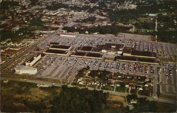 Aerial View of Northgate Shopping Center Fresno California
