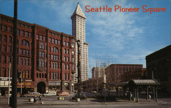 Pioneer Square Seattle Washington