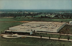 Surgical Dressings Manufacturing Plant Parke-Davis Postcard