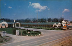 Jeff Davis Motel Postcard