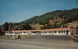 Maggie Valley Motel Postcard