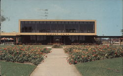 Student Union Building, Lamar College Postcard