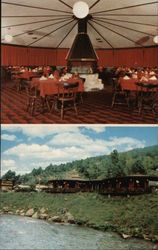 El Camino Motel and Restaurant Postcard