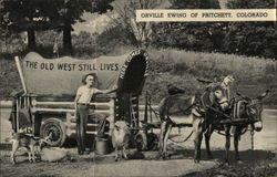 Orville Ewing and His Touring Menagerie