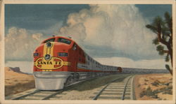 The Famous Santa Fe Streamlined Fleet