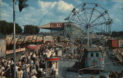 Partial View of the Midway of the York Interstate Fair