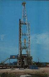Oil - Black Gold Oil Drilling Rig - The Titan of the Southwest