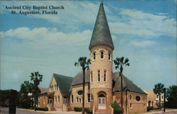 Ancient City Baptist Church Postcard