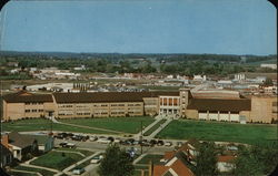 New Central High School Postcard