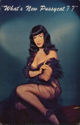 "Bettie Page ""What's New Pussycat?"""