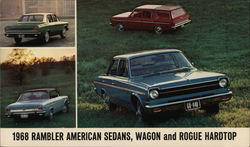1968 Rambler American Sedans, Wagon and Rogue Hardtop