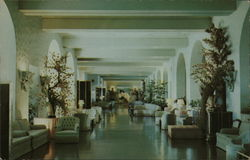 Lobby of Royal Hawaiian Hotel