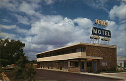 Arlin Motel Postcard