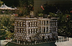 Miniature White House and Presidents