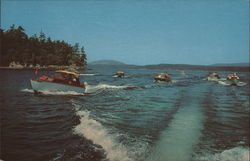 Motor Boating in the San Juan Islands