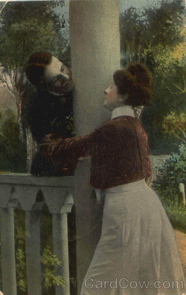 Couple on Porch Romance & Love