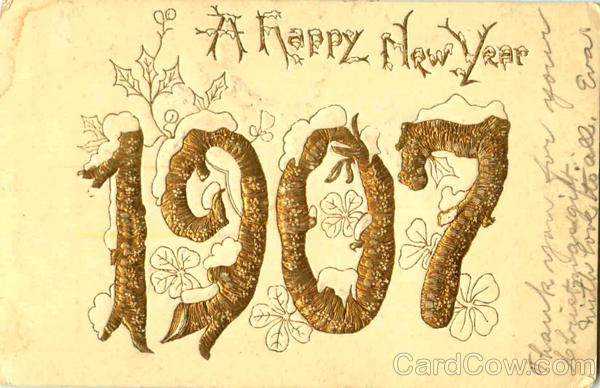 1907 New Year's