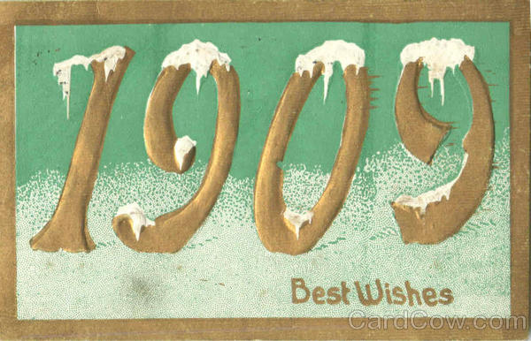 1909 Best Wishes Years