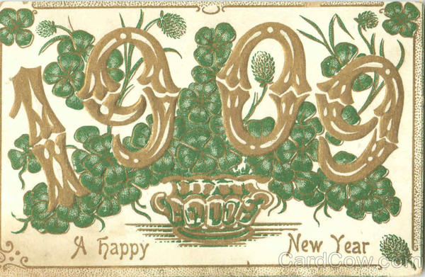 1909 A Happy New Year Years
