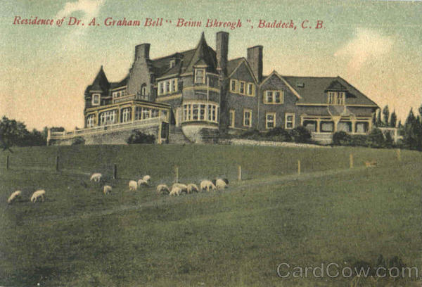 Residence Of Dr. A. Graham Bell Baddeck Canada Nova Scotia