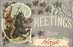 Greetings From Hayti Postcard