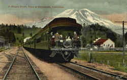 A Shasta Route Train At Edgewood